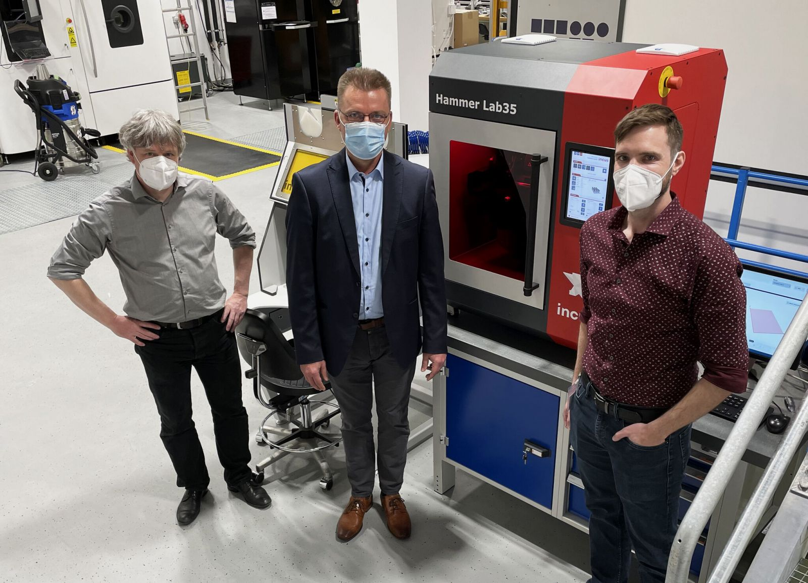 The LMM 3D Printing System Installed in the ICAM