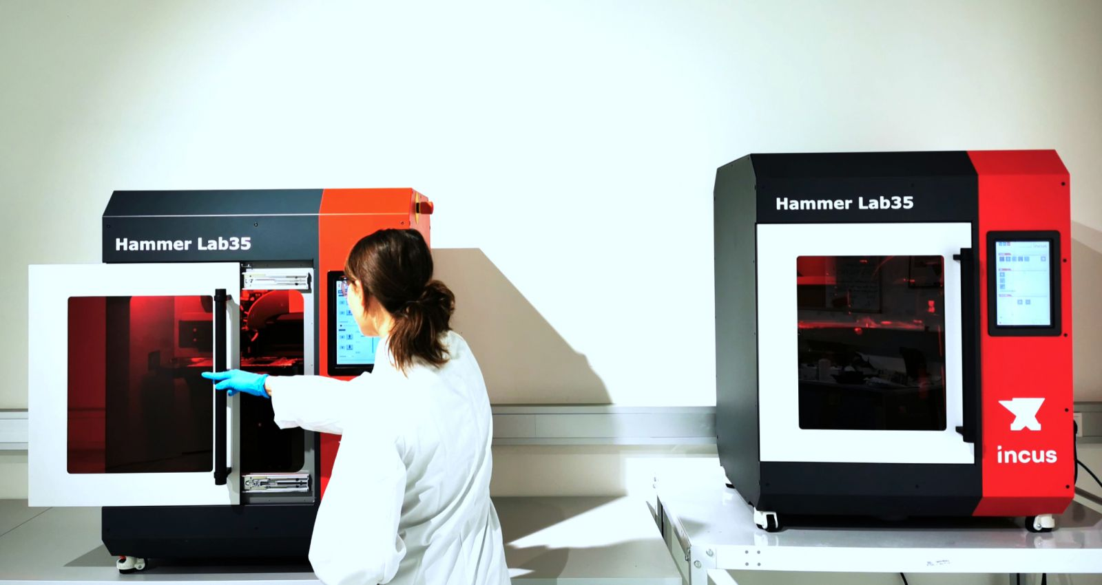 Incus Brings Hammer Lab35 Printer Into Series Production