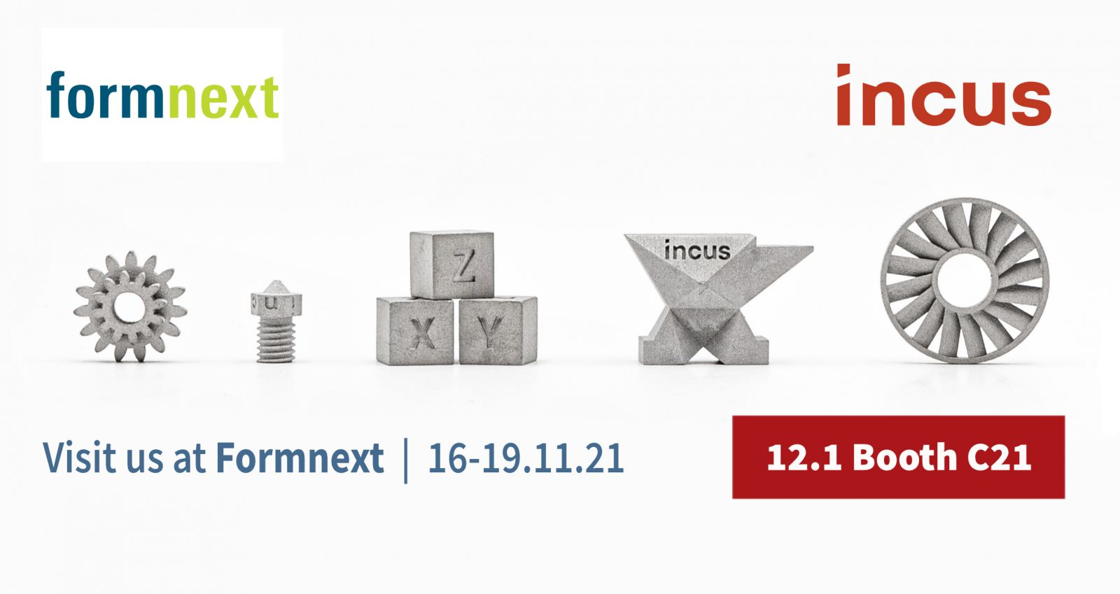 Incus Takes Part in Formnext 21
