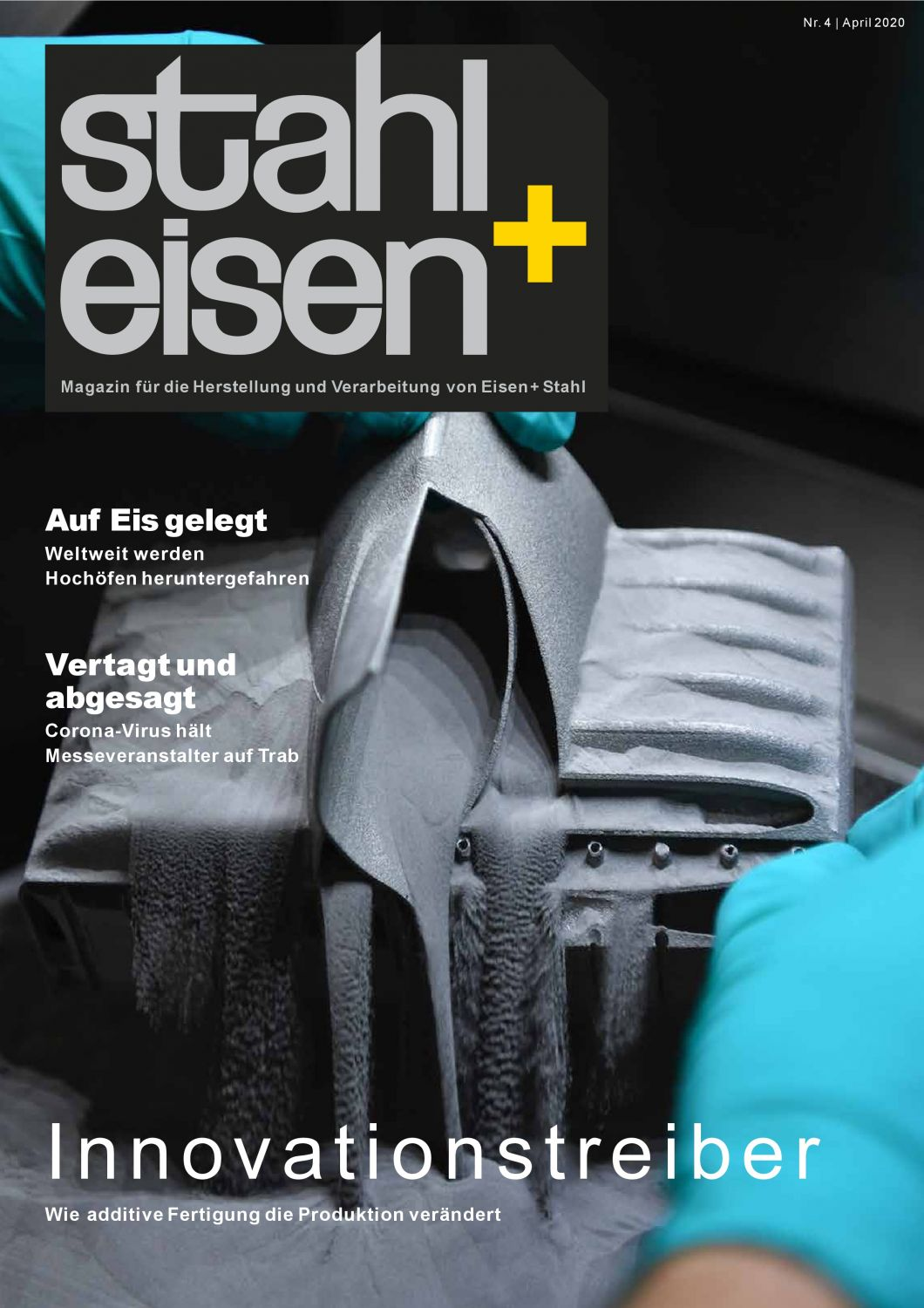 Lithography-based Metal Manufacturing is featured in April issue of